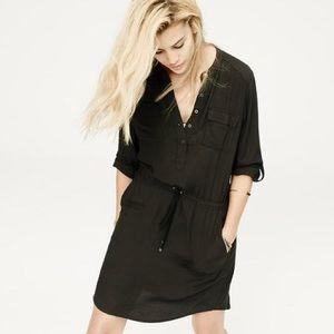 Lou & Grey rayon shirt dress